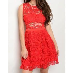 Dresses & Skirts - Side Cut Out A-Line Dress